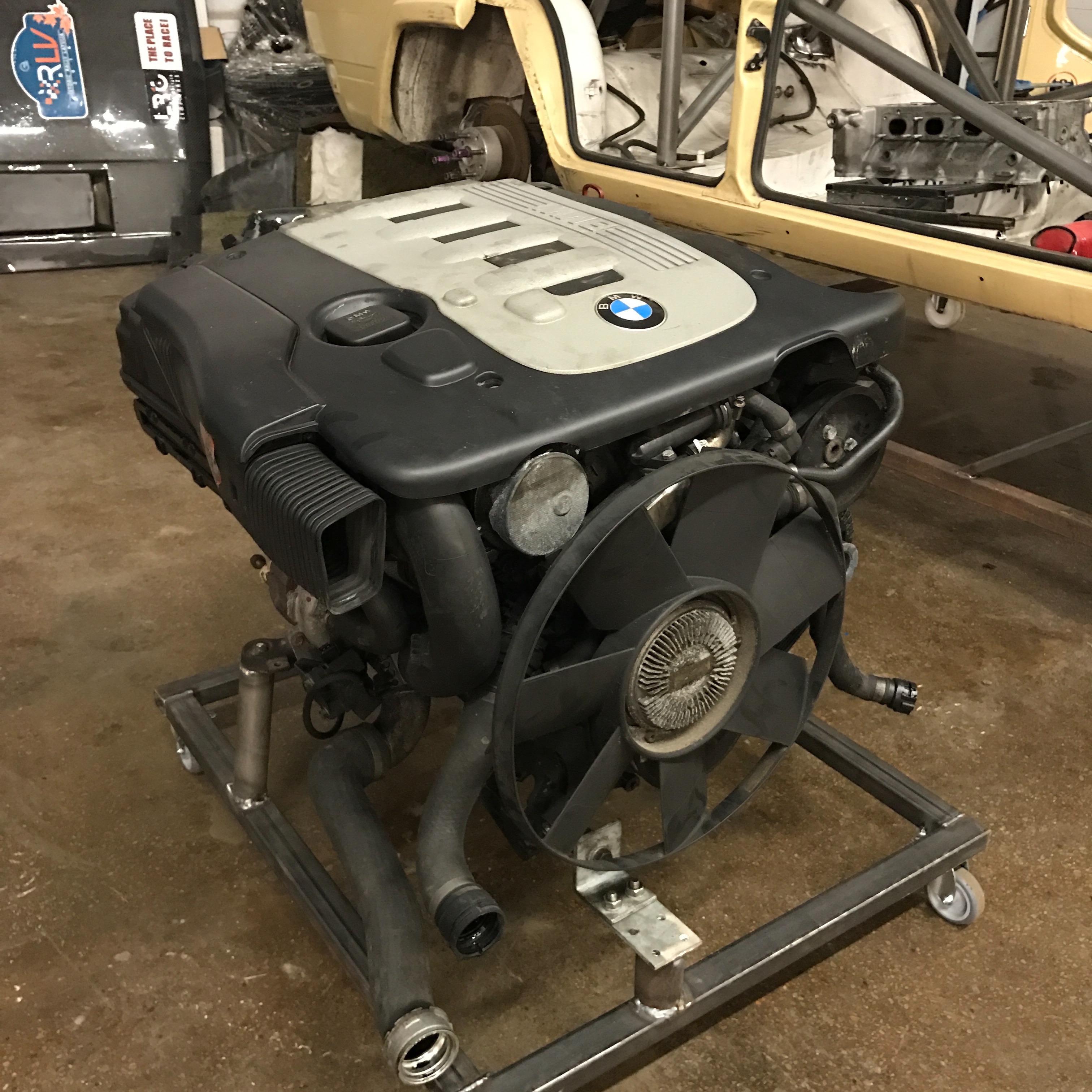 USED Bmw m57 ENGINE