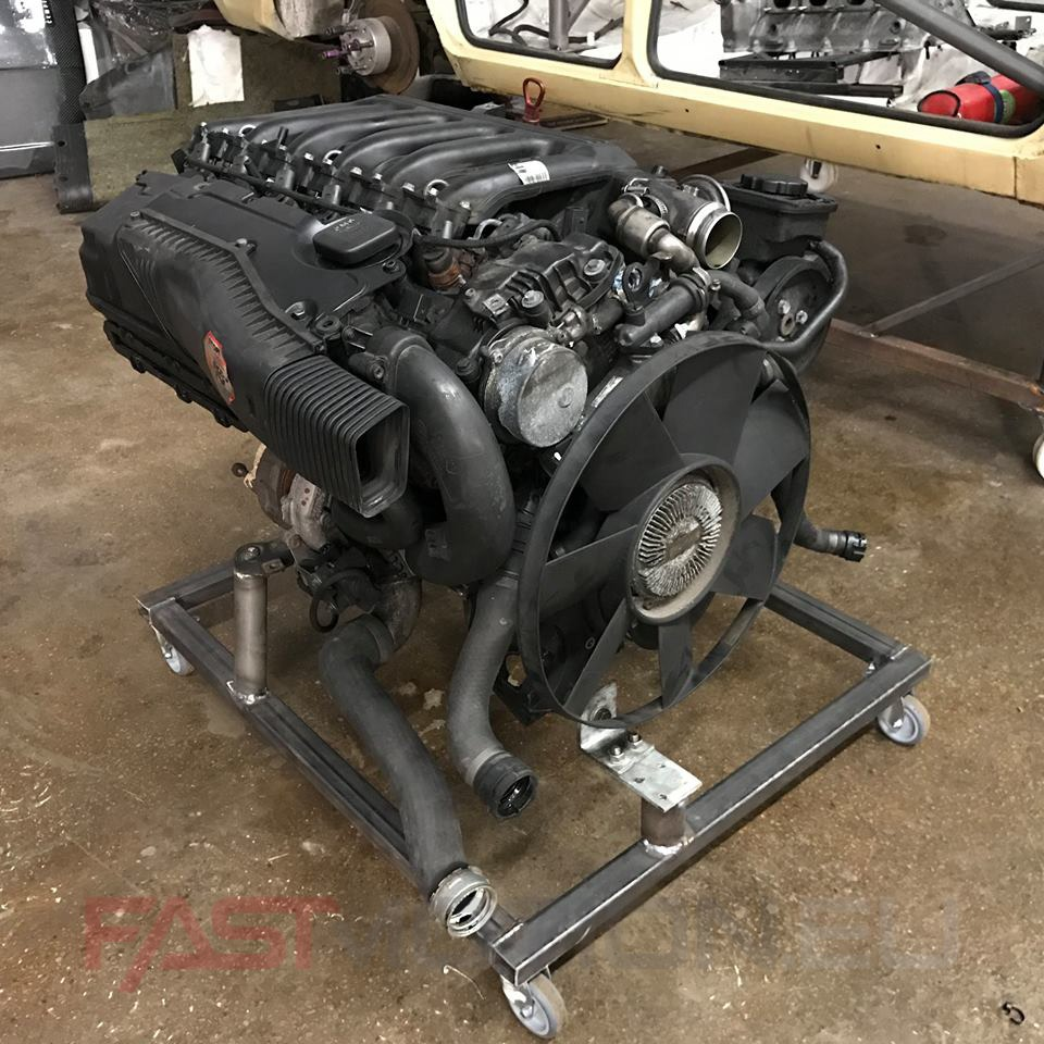 Bmw m57 3 0 engine, full set with aggregates and wiring