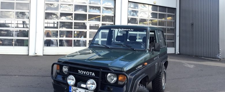"FOR SALE: Toyota Land Cruiser LJ70 1986 | BF Goodrich 33"", OME 2inch, Come UP winch"