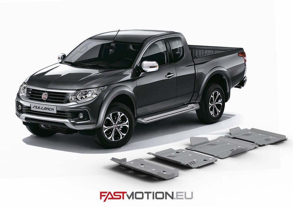 Mitsubishi L200 / Triton 2015- KL SKIDPLATE - full kit w/o tank (4 pcs)
