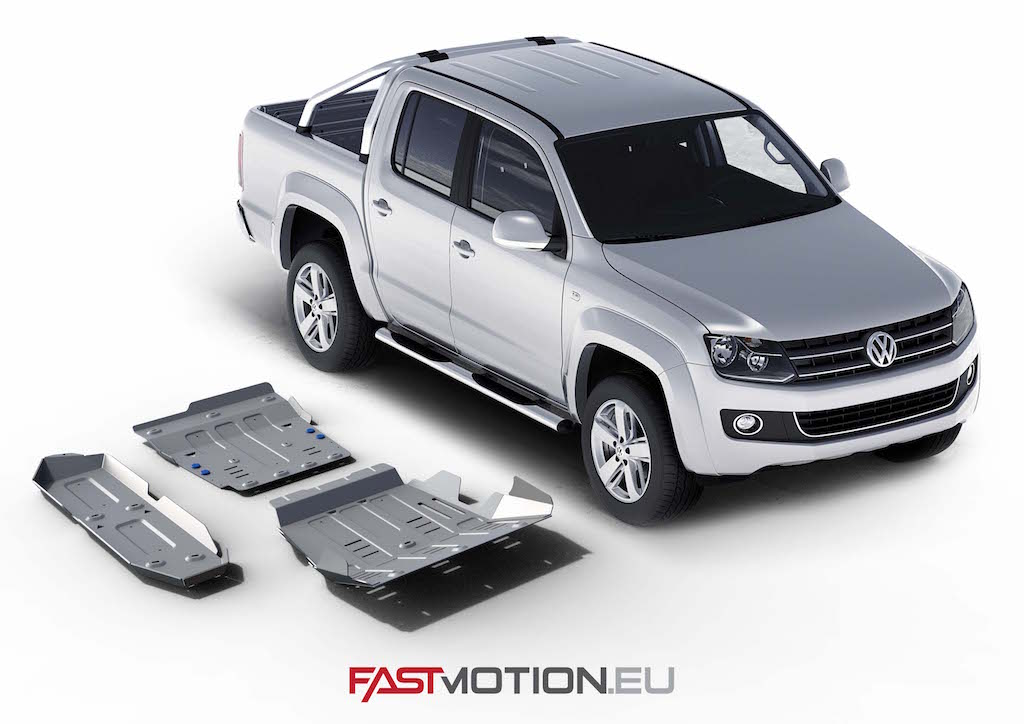 Volkswagen Amarok 2010-2016  SKIDPLATE - full kit w/ tank (3 pcs)