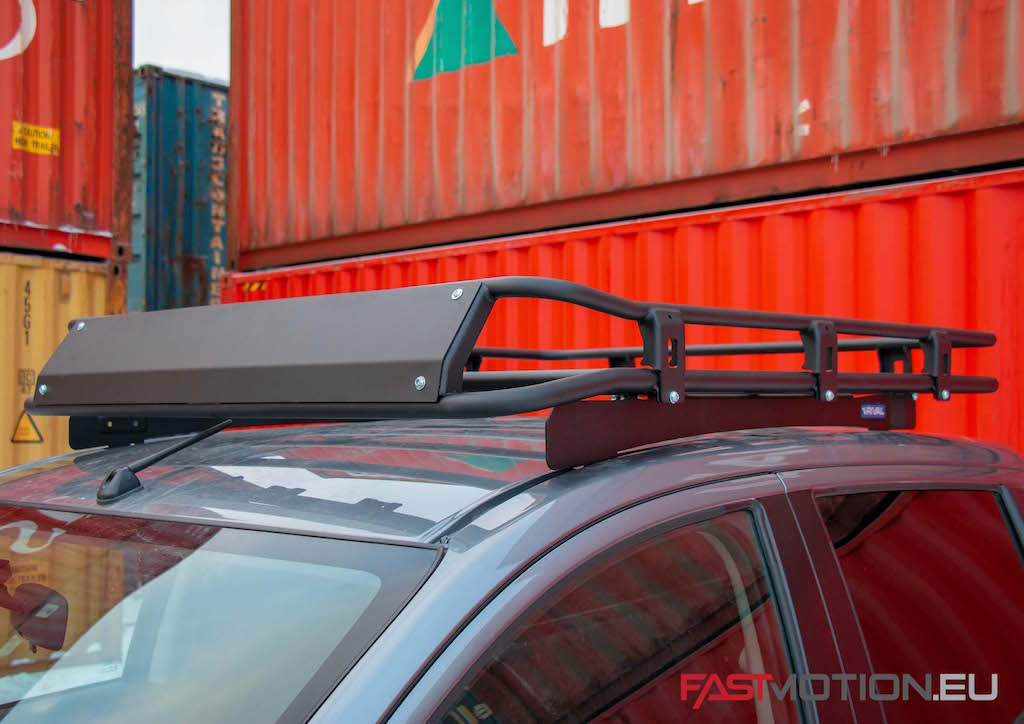 Mitsubishi L200 / Triton 2015-2018  ALUMINUM ROOF RACK - roof rack (incl fittings and wind deflector)