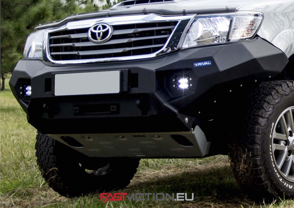 Toyota Hilux 2011-2015 Vigo ALUMINUM BUMPER - front bumper TUV approved