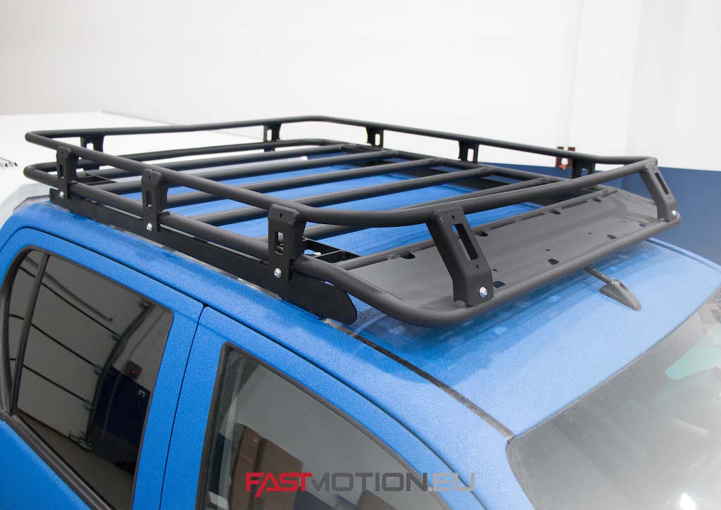 Toyota Hilux 2018- Executive/Rocco ALUMINUM ROOF RACK - roof rack (incl fittings and wind deflector)